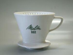 Melitta Kaffeefilter Porzellan Filter Größe 102 grüne Schrift
