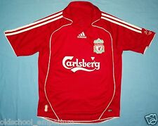 Liverpool FC / 2006-2008 Home - ADIDAS - JUNIOR Shirt / Jersey. Size: 12/13y?