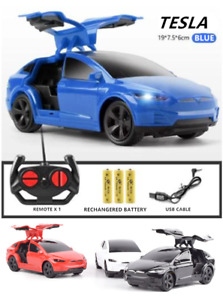 1:24 TESLA MODEL X 90D ELECTRIC RC RADIO REMOTE CONTROL VEHICLE CAR TOY BOY GIFT