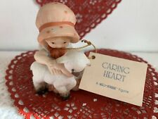 Bisque Holly Hobbie Caring Heart Mini Collection Easter Valentines Figurine