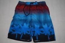 Nike Bade Shorts Beach Short kurze Hose Aqua Sommer Strand Palmen Palm Tree Gr M