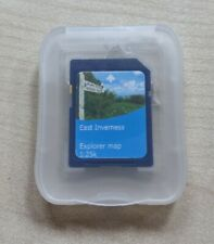Satmap map cards, East Inverness