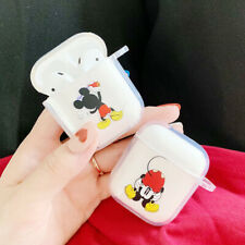 Cute Mickey Minnie Disney Earphone Airpod Cover For Apple Airpods Charging Case
