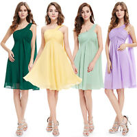 Short Bridesmaid Cocktail Party Formal Prom Dresses Homecoming Ever Pretty 03537