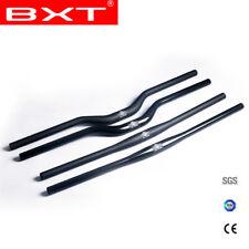 31.8mm 3k Voll Carbon Mountain Lenker Flat Riser Bar Handkebar 620-720mm Lenker