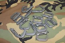 TACTICAL MOLLE II ITW NEXUS GRIMLOC LOCKING D-RING CARABINER ACU GRIMLOCK FLC