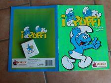 ALBUM FIGURINE NO PANINI MERLIN COMPLETO I PUFFI 1996 + SET COMPLETO 30 CARD