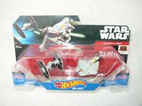 STAR WARS HOT WHEELS STARSHIPS ANIMATED SERIES TIE FIGHTER vs. GHOST 2-PACK NEW!