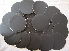 """5"""" Inch 25 Sandpaper Disks 120 Grit Peel and Stick Adhesive Abrasive Sand Paper"""
