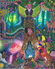 Pablo Amaringo Shaman Sabio Limited Print Ayahuasca Visionary Art Poster Peru