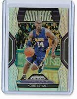 2018-19 Panini Prizm basketball Kobe Bryant silver prizm Dominance No.6