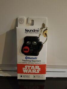 foundmi Bluetooth Tracking Keychain ~ Series 1 Star Wars - Darth Vader ~ NIP