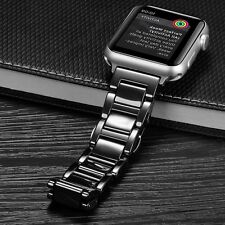 Luxury Ceramic Watch Band Strap Bracelet For Apple Watch Series 3 2 1 38mm 42mm