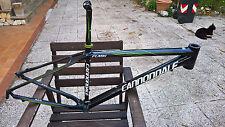 """Telaio MTB Cannondale Flash taglia M 17"""" Carbonio adatto a ruote 27,5"""" 650b"""