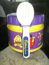 CADBURYS COLLECTABLE BOWL WITH FORK AND SPOON
