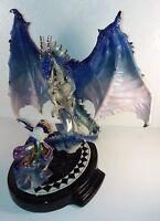 Franklin Mint Dragon Spell Myles Pinkney Porcelain Figurine / Statue
