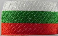 Bulgarien Aufnäher gestickt,Flagge Fahne,Patch,Aufbügler,6,5cm,neu