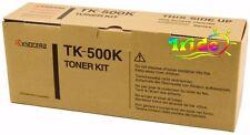 Kyocera TK-500K Toner Black FS-C5016N Pages 8.000 ORIGINALE
