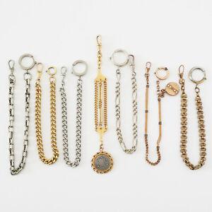 Lot Anciennes Chaines de montre à gousset - IMPERATOR