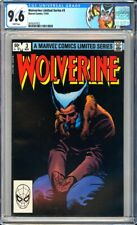 Wolverine Limited Series #3 CGC 9.6 Frank Miller & Joe Rubinstein-c & Art!L@@K!