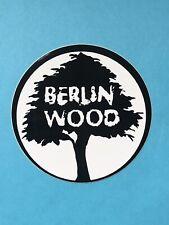 """RARE Vintage Tech Deck """"Berlin Wood """"Sticker New"""