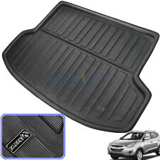 For Hyundai IX35 2010-2015 Rear Trunk Boot Liner Cargo Mat Floor Tray Pad