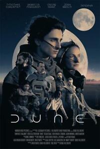 "Sci fi Adventure Film Dune 2020 Movie Poster 18x12 - 40x27"""