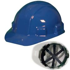 Jackson Safety Sentry III 14416 Blue Cap Style Hard Hat 6-Pt Ratchet Suspension