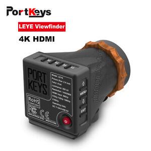 "DHL PortKeys LEYE 4K HDMI Electronic Viewfinder 2.4"" inch LCD EVF Screen Panel"