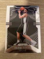 2019-20 Panini Prizm Base Keldon Johnson #273 RC Rookie San Antonio Spurs