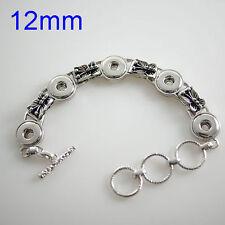 Bracelet Petite Jewelry 12mm Metal Fits Gingersnap Ginger Snap Mini Snaps