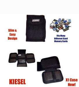 SD Memory Card Case Holder Pouch SDHC Micro SD MMC xD Mini SD CF Holds 24* Cards