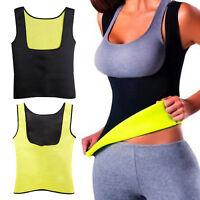 Thermo Sweat Hot Neoprene Body Shaper Slimming Waist Trainer Cincher Yoga Vest