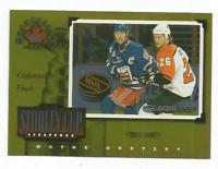 1997-98 Donruss Canadian Ice Stanley Cup Scrapbook #28 Wayne Gretzky 0614/1000