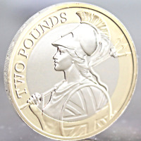 UNCIRCULATED 2016 Royal Mint Britannia Definitive £2 Two Pound Coin RARE COLLECT