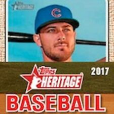 2017 Topps Heritage U Pick 10 Base, New Age Performers, Than & Now, Flashbacks