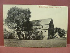 Old Postcard PA Ephrata Brother House The Cloister