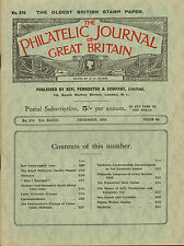 the philatelic journal of great britain . december 1938