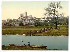 3 Victoriens Vues Arche De Newport Stonebows Cathédrale Lincoln Photos Anciennes