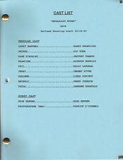 "THE LARRY SANDERS SHOW script ""Broadcast Nudes"""