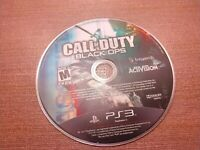 Sony PlayStation 3 PS3 Disc Only Tested Call of Duty Black Ops COD BO Ships Fast