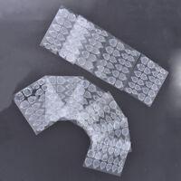 10pcs double-side adhesive tips transparent false nails tool nail glue tool HF