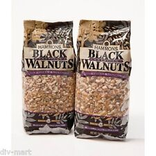 Lot of Two, 24 oz. HAMMONS PREMIUM QUALITY BLACK WALNUTS, FANCY LARGE PIECES