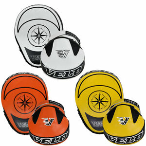 VELO Focus Pads Boxing Training Pads Punch Gloves Hook And Jabs Leather Mitts