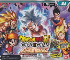 Dragonball Super Card Game Colossal Warfare English sealed box 24 packs & 2 dash