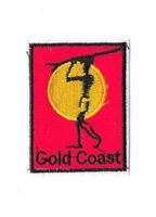 GOLD COAST AUSTRALIA Iron on / Sew on Patch Embroidered Badge Souvenir PT432