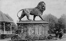 "Reading Lion Monument Statue ""Silverette"" 1917"