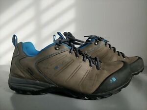 Karrimor Mount Low Weathertite Walking Trainer Shoes Grey Blue Size UK 9 EU 43