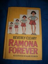 Ramona Forever Beverly Cleary By Alan Tiegreen Vtg Hardback , Weekly Reader Book