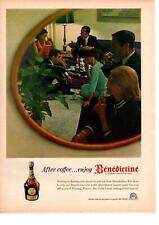 1964 Benedictine After Coffee La Grande Liqueur 86 Proof Fecamp France Print Ad